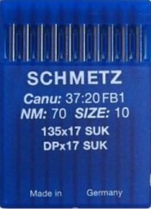 SCHMETZ 135X17  SUK